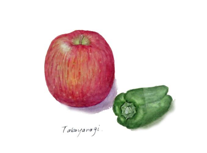 高柳早苗:ピーマンとリンゴ