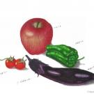 野菜たち(中野銑造)