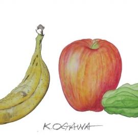 小川和彦:果物とピーマン
