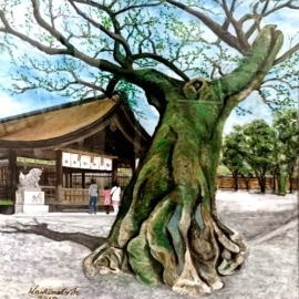 橋本正信国府宮神社2018
